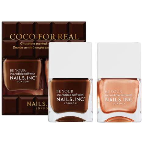 Chocolate-Scented Nail Polishes