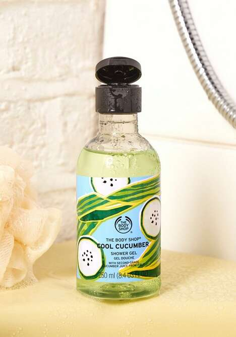Waste-Reducing Shower Gels
