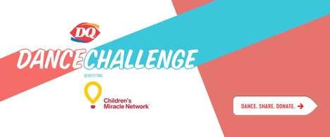 Charitable QSR-Branded Dance Challenges