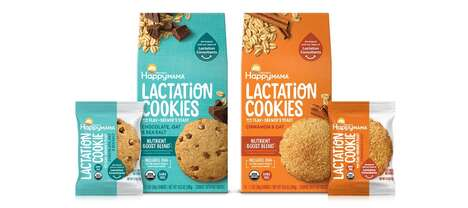 Tech-Enhanced Lactation Cookies
