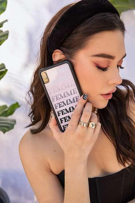 Model-Designed Phone Cases