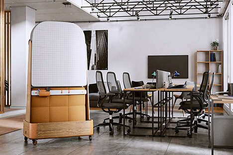 Soundproof Office Space Partitions