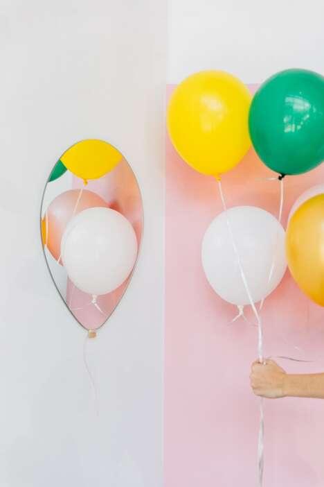 Playful Balloon-Shaped Mirrors