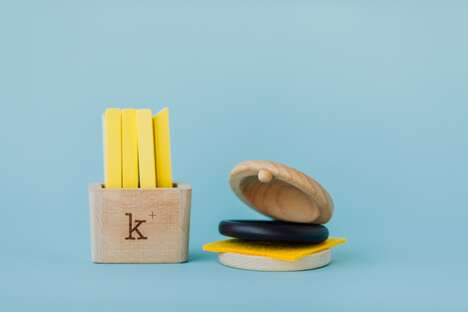 Musical Food-Inspired Toys