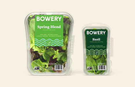 Graphic Produce Branding