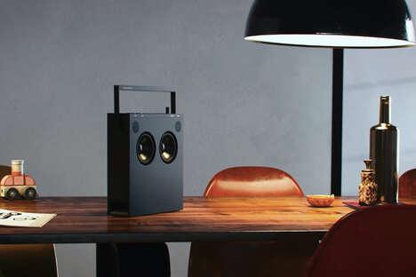 Rewindable Radio Speakers