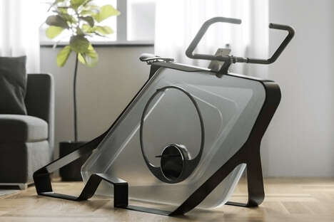 High-End Design Exercise Bikes