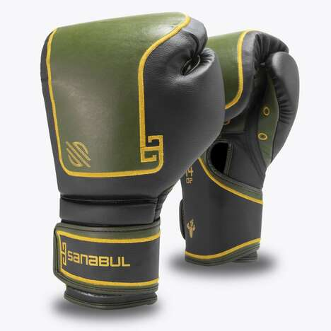 Cactus Leather Boxing Gloves