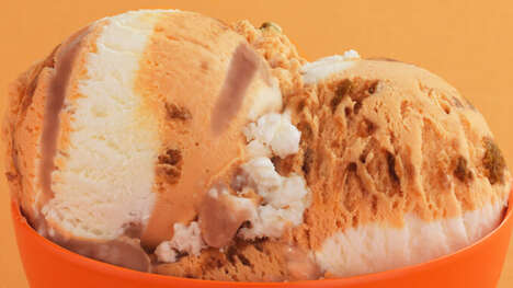 Pumpkin Cheesecake Ice Creams