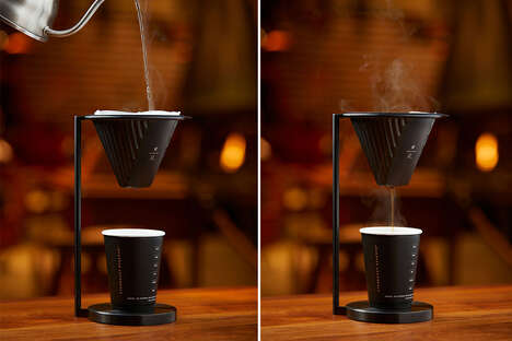 Minimalist Coffee House Equipment