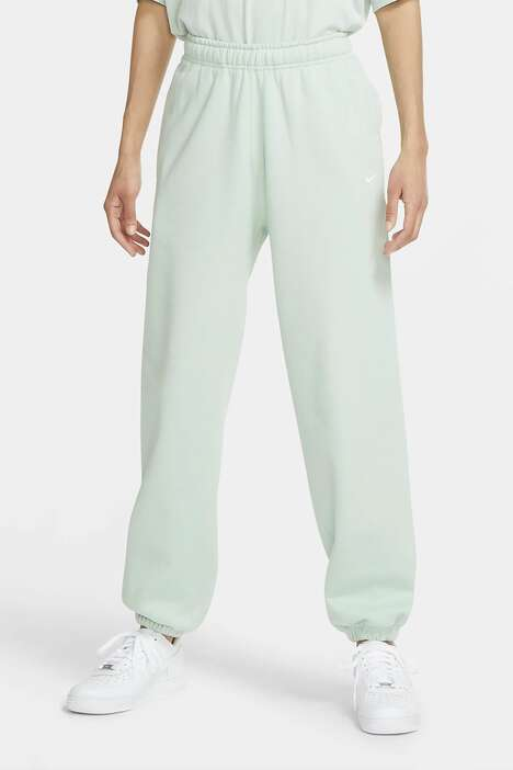 Fleece Pastel Sweat Pants