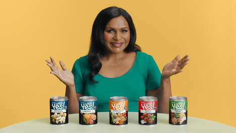 Comedian-Backed Canned Soup Ads