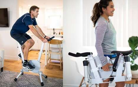 Storage-Friendly Exercise Bikes
