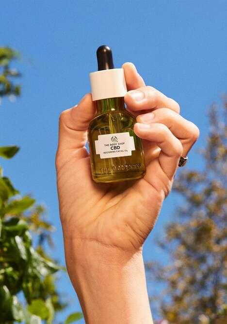 Restoring CBD Face Oils