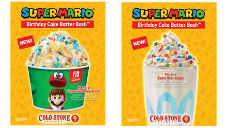 Video Game-Themed Frozen Treats