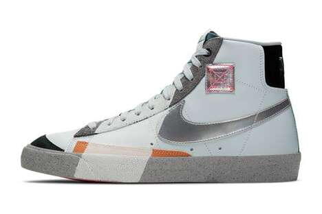 Shanghai-Inspired Hi-Top Sneakers