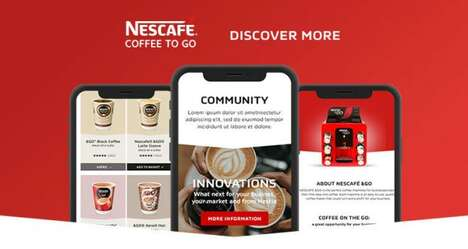 Branded Coffee Discovery Websites