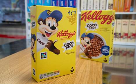 Sight Loss-Friendly Cereal Packaging