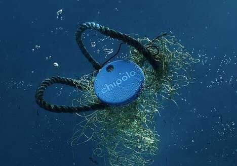 Ocean Plastic Item Locators
