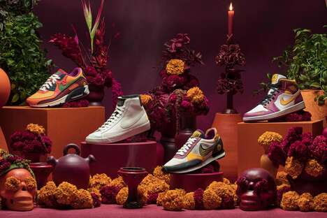 Holiday-Celebrating Shoe Collections