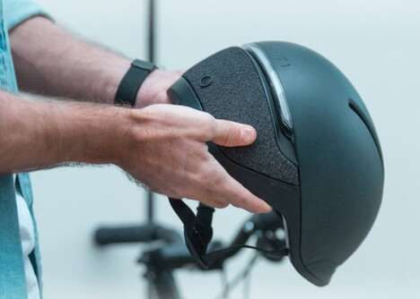 Fall Detection Cyclist Helmets