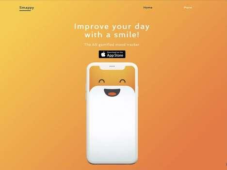 AR Smile-Encouraging Games