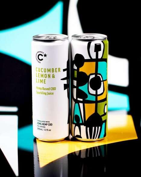Functional CBD Drink Ranges