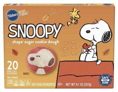 Cartoon Dog Sugar Cookies