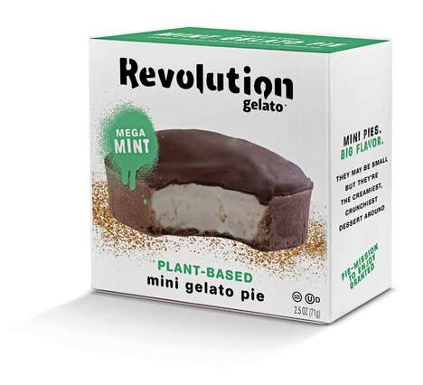 Plant-Based Gelato Pies