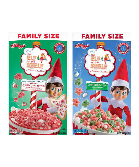 Festive Cookie Cereals