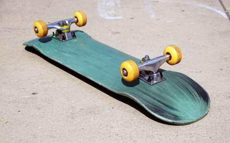 Recycled Plastic Skateboard Decks