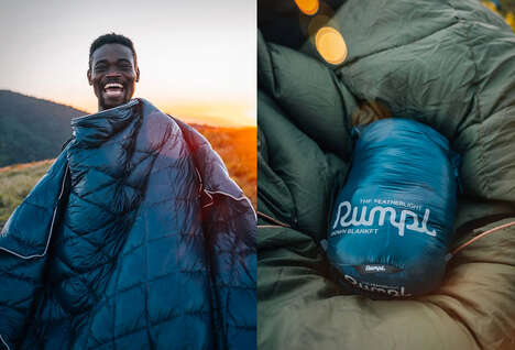 Lightweight Outdoor Down Blankets