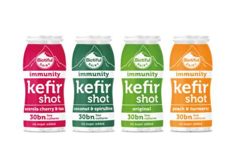 Immune-Boosting Kefir Shots