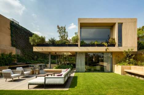 Modern Garden-Integrated Homes