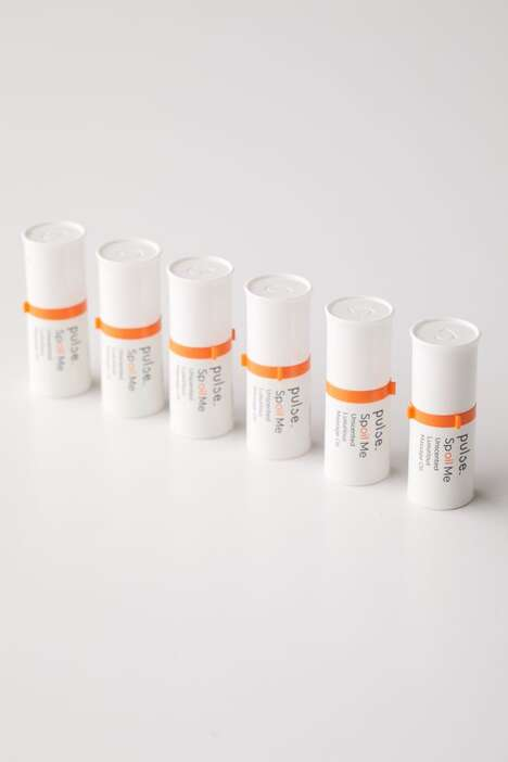 Dosed Massage Oil Packaging