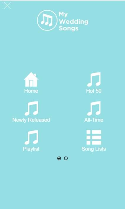 Curated Wedding Song Apps