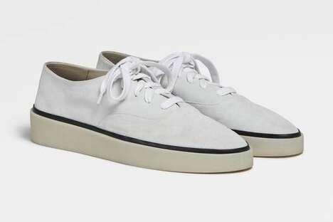 Minimal Comfort-Centric Footwear