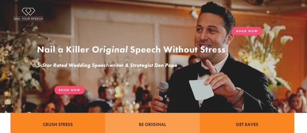 Wedding Speech Writing Services