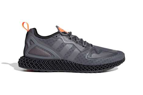Weaved Midsole Understated Sneakers