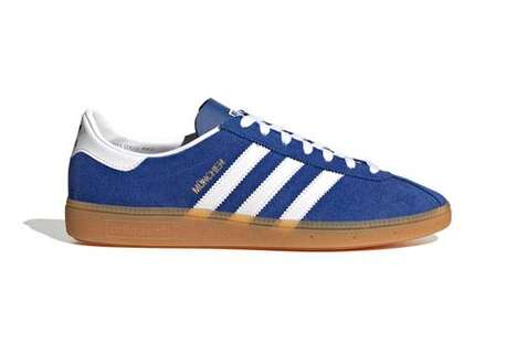 München-Inspired Suede Sneakers