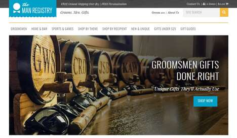 Custom Groomsmen Gift Shops