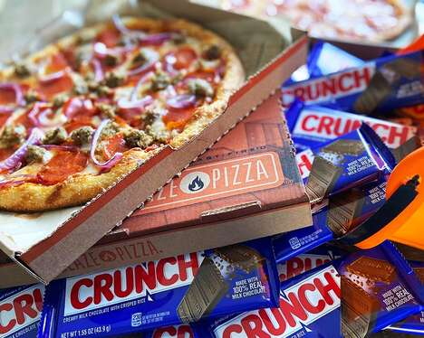 Candy-Paired Pizzas