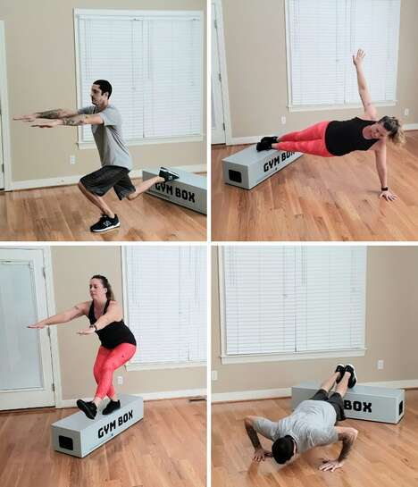 All-in-One Home Gym Boxes