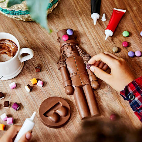 Festive Chocolate Decorating Kits