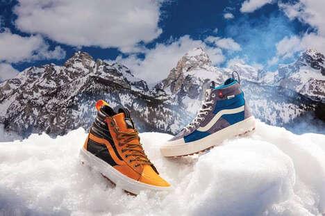 Weatherized Skate Shoes