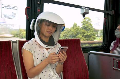 Protective Air Purification Helmets