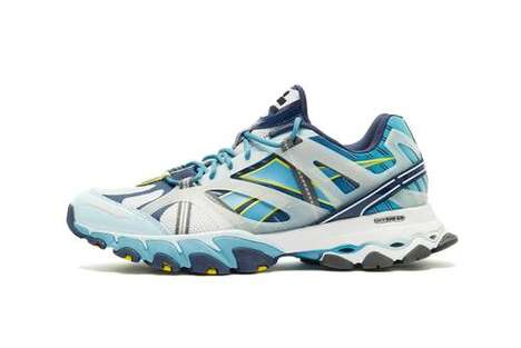Deep Sea-Themed Trail Sneakers