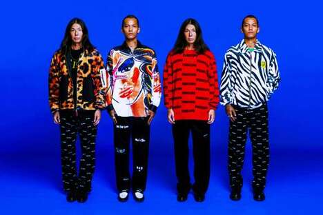 Psychedelic Patterned Bright Streetwear