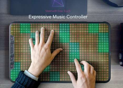 Illuminated Digital Music Controllers