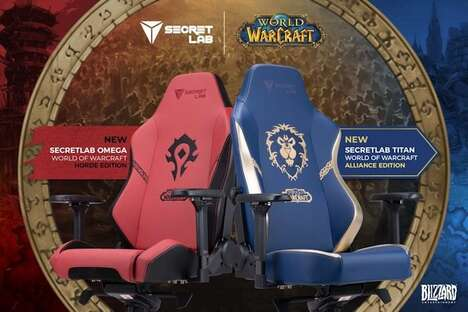 Themed eSports Seating